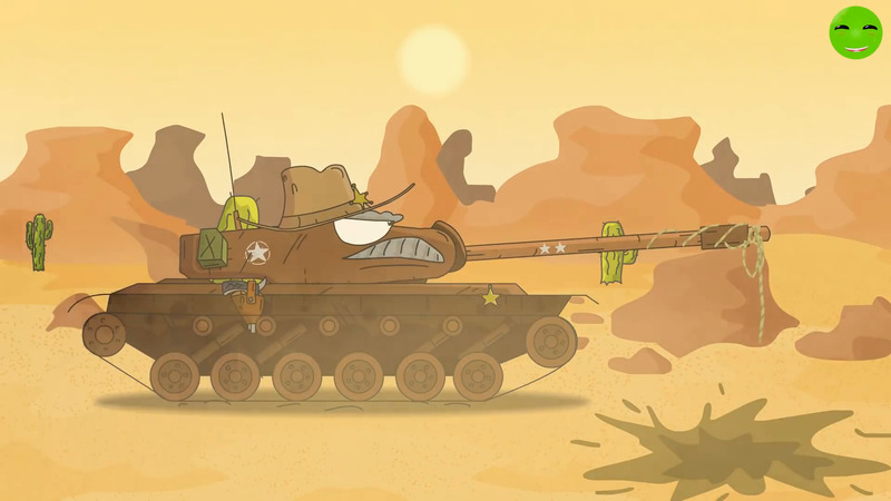 Ride the Monster - Cartoons about Tanks