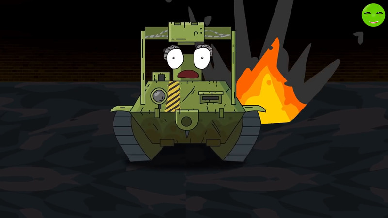 RATTE BECAME A DEMON - Cartoons about tanks