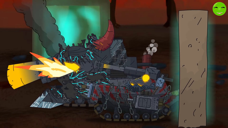 From the claws of hell - Cartoons about tanks