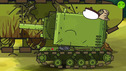 Flaming Monster - Cartoons about tanks