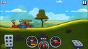 Potatoes 2 Cartoon cars competition race cars in the game Hill Climb Racing 2