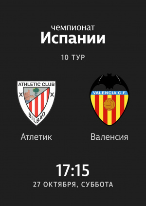 10 тур: Атлетик - Валенсия 0:0. Обзор матча